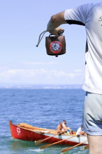 Entrainement Rame traditionelle- Anne de Noailles - Amphion-Fête du sauvetage 2017